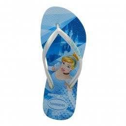 Havaianas Kids Slim Princess Sandals Blue Splash