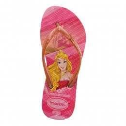 Havaianas Kids Slim Princess Sandals Pink Rose