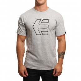 Etnies Icon Outline Tee Grey/Heather