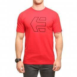 Etnies Icon Outline Tee Red