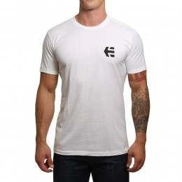 Etnies Mini Icon Tee White/Black