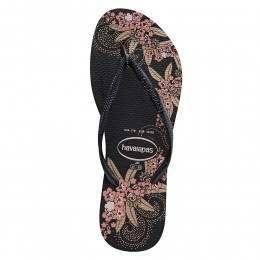 Havaianas Slim Organic Sandals Black/Grey