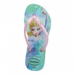 Havaianas Kids Slim Frozen Sandals Rosa Ice Blue