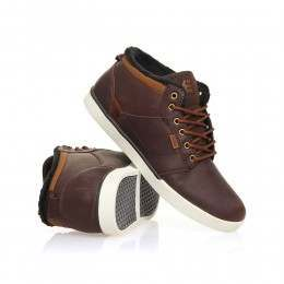 Etnies Jefferson Mid Shoes Brown/White