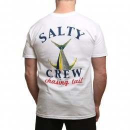 Salty Crew Chasing Tail Tee White