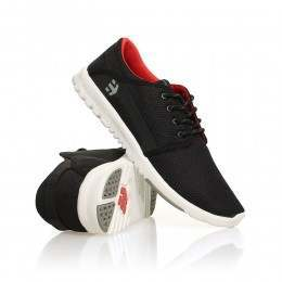 Etnies Scout Shoes Black/Grey/Red