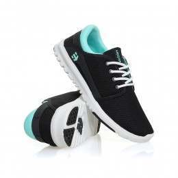 Etnies Ladies Scout Shoes Navy/Blue/White