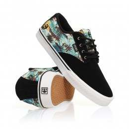 Etnies Ladies Jameson Vulc Shoes Black/Aloha