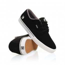Etnies Ladies Jameson Vulc Shoes Black/White