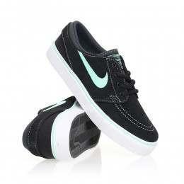 Nike SB Boys Stefan Janoski Shoes Black/Green