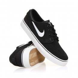 Nike SB Boys Stefan Janoski Shoes Black/White-Gum