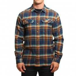 Patagonia L/S Fjord Flannel Shirt Blue Ox Navy