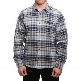 Patagonia Fjord Flannel Shirt Classic Navy