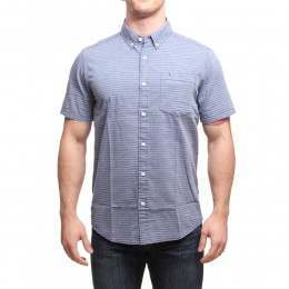 PATAGONIA BLUFFSIDE S/S SHIRT Classic Navy