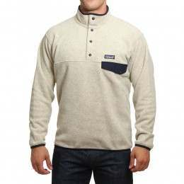 Patagonia Synchilla Snap-T Pullover Oatmeal