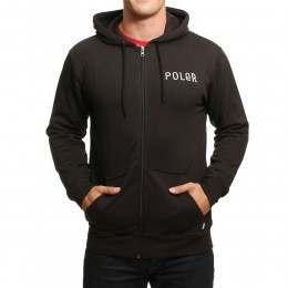 Poler Psychedelic Z/Hoody Black