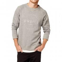 ONeill Jack's Base Type Sweatshirt Silver Melee