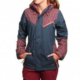 ONeill Reunion Snow Jacket Blue AOP