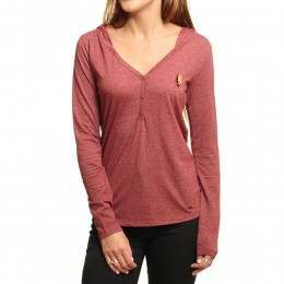 ONeill Marly Long Sleeve Top Sun-Dried Tomato