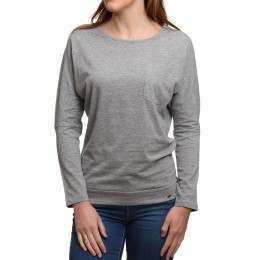 ONeill Jack's Base Long Sleeve Top Silver Melee