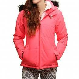 PROTEST SAVANNA SNOW JACKET Fluor Pink