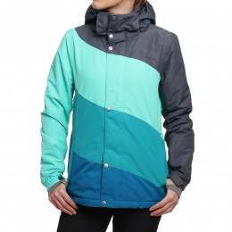 Protest Calisto Snow Jacket Sea Green