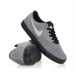 Nike SB Boys Check Shoes Cool Grey