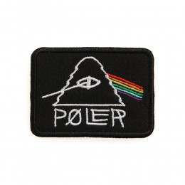 Poler Psychedelic Iron-On Patch Black