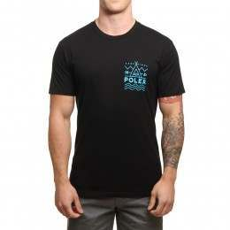 Poler Land And Sea Tee Black