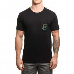 Poler Enlightenment Pocket Tee Black