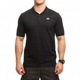 Nike SB Dri-Fit Pique Polo Black/White