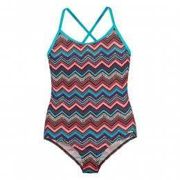 Protest Girls Alanza Swimsuit Ground Blue
