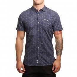 ONeill Ocean S/S Shirt Blue AOP