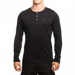 ONeill Jacks Base Long Sleeve Top Black Out