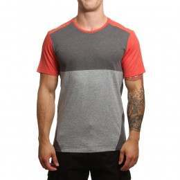 ONeill Blocked Tee Aurora Red