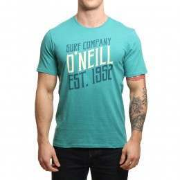ONeill Signage Tee Green-Blue Slate