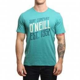 ONeill Signage Tee Green-Blue Slate