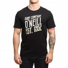 ONeill Signage Tee Black Out