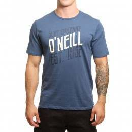 ONeill Signage Tee Dusty Blue