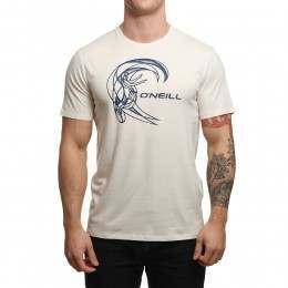 ONeill Circle Surfer Tee Powder White