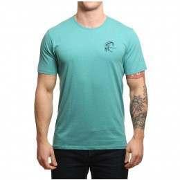 ONeill Chesta Tee Green-Blue Slate