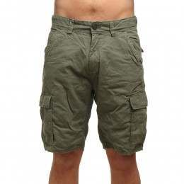 ONeill Complex Cargo Shorts Olive Leaves