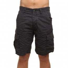 ONeill Complex Check Cargo Shorts Black AOP