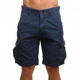 ONeill Complex Check Cargo Shorts Blue AOP