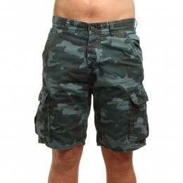 ONeill Complex Check Cargo Shorts Green AOP