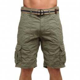 ONeill Point Break Cargo Shorts Olive Leaves