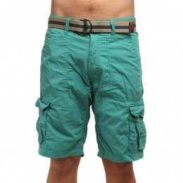 ONeill Point Break Cargo Shorts Green/Blue Slate