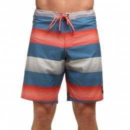 ONeill Santa Cruz Stripe Boardshorts Blue/Red