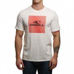 ONeill Square Tee Powder White