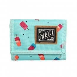 ONeill Pocketbook Wallet Green AOP
